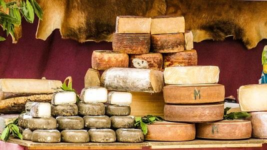 Produzione ed esportazione di formaggio 2018: situazione in Italia ed Europa