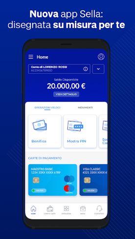 App Banca Sella: tutte le funzionalità di internet banking
