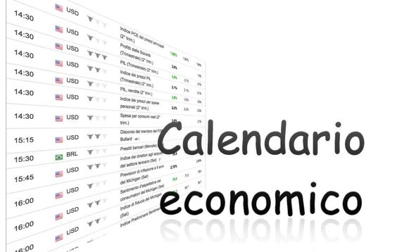 Calendario economico: in cosa consiste e come usarlo, differenze tra tempo reale e del giorno